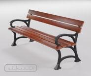 Лавка паркова, садова і чавунна - SEDAN 2501