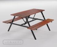 Complex park and garden bench - EUROPA 2000 - 8101