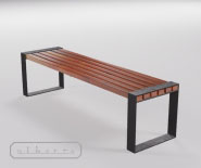 NEW - Park and garden bench - Europa 2000-8005
