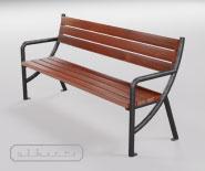 Park and garden bench - E1001