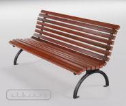 Park and garden bench - EUROPA 2000-3210