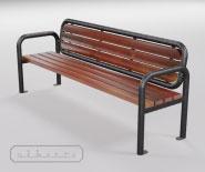 Park and garden bench - EUROPA 2000 - 4101