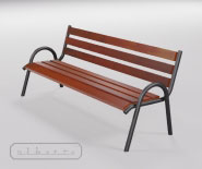 Park and garden bench - TRAVIATA - 5001