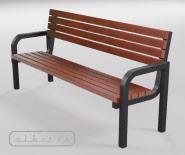 Скамейка парковая и садовая - EUROPA 2000 - 7101