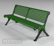 NEW - Park and garden bench - CANNES - 6001