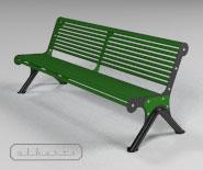 NOWOŚĆ - Ławki parkowe, ogrodowe - CANNES - 6001